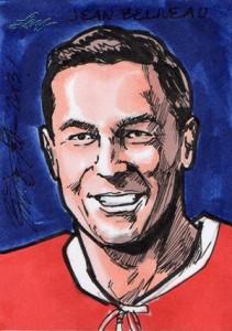 2013 Leaf Best of Hockey Sketch Card Guide 15