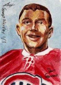 2013 Leaf Best of Hockey Sketch Card Guide 5
