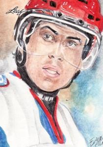 2013 Leaf Best of Hockey Sketch Card Guide 17