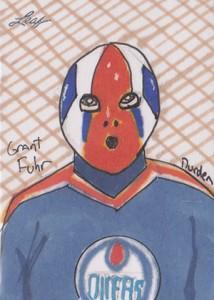 2013 Leaf Best of Hockey Sketch Card Guide 3