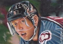 2013 Leaf Best of Hockey Sketch Card Guide 16