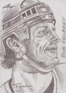2013 Leaf Best of Hockey Sketch Card Guide 28