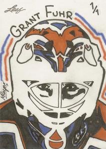 2013 Leaf Best of Hockey Sketch Card Guide 23