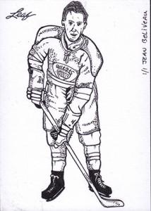 2013 Leaf Best of Hockey Sketch Card Guide 4