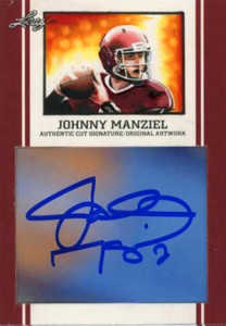 Johnny Manziel Cards, Rookie Cards, Key Early Cards and Autographed Memorabilia Guide 100