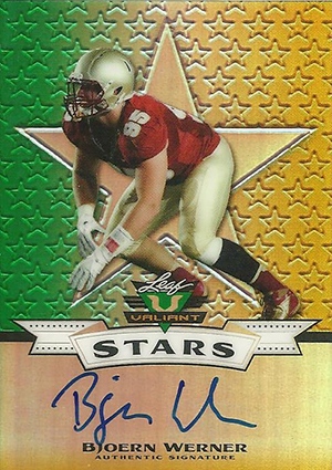 2013 Leaf Valiant Football Cards 6