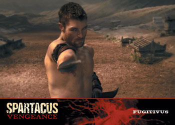 2013 Rittenhouse Spartacus Vengeance Premium Pack Trading Cards 19