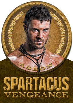 2013 Rittenhouse Spartacus Vengeance Premium Pack Trading Cards 21