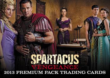 2013 Rittenhouse Spartacus Vengeance Premium Pack Trading Cards 26
