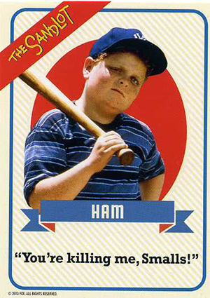 Hobby Gone Hollywood: Baseball Cards of Baseball Movies 35