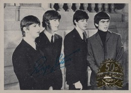 Beatles Trading Cards in 2013 Topps Heritage Baseball 2