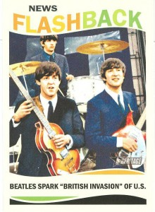 Beatles Trading Cards in 2013 Topps Heritage Baseball 3
