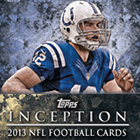 2013 Topps Inception Football Cards