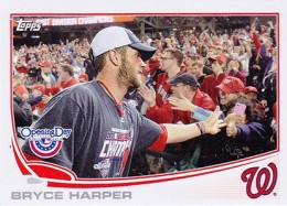 2013 Topps Opening Day Variations Bryce Harper