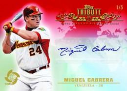 2013 Topps Tribute World Baseball Classic Edition Baseball Cards 1