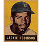 Top 12 Most Amazing Jackie Robinson Vintage Cards