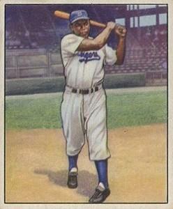 1950 Bowman Jackie Robinson