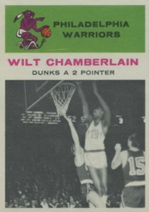1961-62 Fleer Basketball #47 Wilt Chamberlain