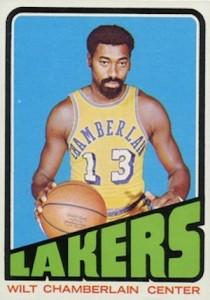 1972-73 Topps Basketball Wilt Chamberlain
