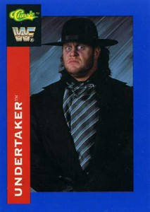 Undertaker Cards and Memorabilia Guide 1