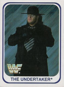 Undertaker Cards and Memorabilia Guide 2