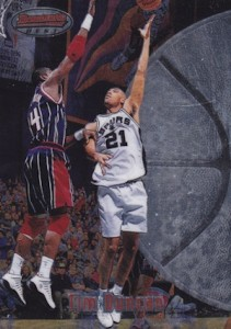 Tim Duncan Rookie Cards and Autograph Memorabilia Guide  25