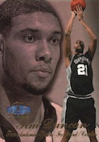 Tim Duncan Rookie Cards and Autograph Memorabilia Guide
