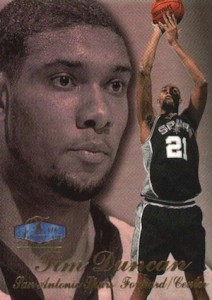 Tim Duncan Visual Rookie Card Guide and Checklist 7