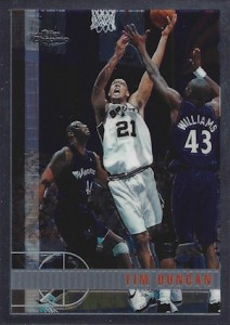 1997-98 Topps Chrome Tim Duncan RC #115
