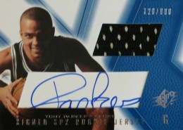 Tony Parker Cards, Rookie Cards and Autographed Memorabilia Guide 4