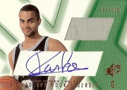 Tony Parker Cards, Rookie Cards and Autographed Memorabilia Guide 2