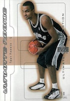 Tony Parker Cards, Rookie Cards and Autographed Memorabilia Guide