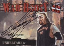 Undertaker Cards and Memorabilia Guide 4