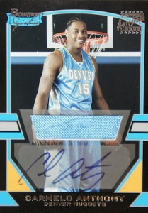 Top 10 Carmelo Anthony Rookie Cards 3