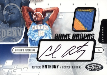 Top 10 Carmelo Anthony Rookie Cards 6