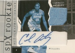 Top 10 Carmelo Anthony Rookie Cards 7