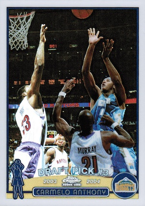Top 10 Carmelo Anthony Rookie Cards 2
