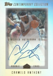 Top 10 Carmelo Anthony Rookie Cards 4