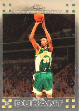Top 15 Kevin Durant Rookie Cards 4