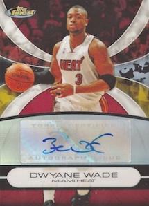 Top 10 Dwyane Wade Autograph Cards