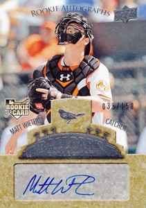 2009 Upper Deck Ballpark Collection Matt Wieters RC
