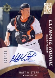2009 Upper Deck Ultimate Collection Matt Wieters RC