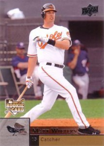 2009 Upper Deck Update Matt Wieters RC