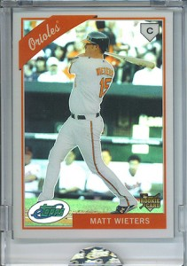 2009 eTopps Matt Wieters