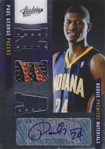 Paul George Rookie Cards and Memorabilia Guide 1