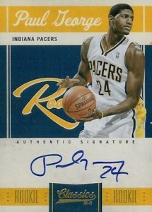 Paul George Rookie Cards and Memorabilia Guide 3