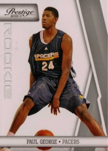 Paul George Rookie Cards and Memorabilia Guide 12