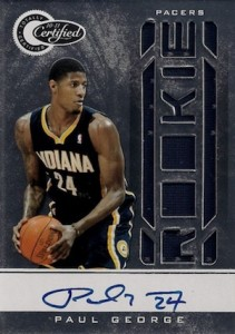 Paul George Rookie Cards and Memorabilia Guide 16