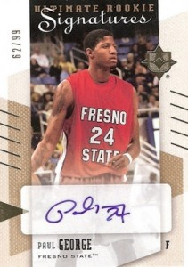 Paul George Rookie Cards and Memorabilia Guide 18