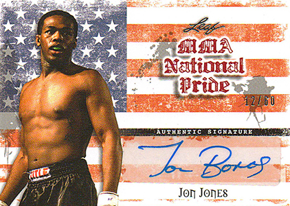 2010 Leaf MMA National Pride Autographs Jon Jones